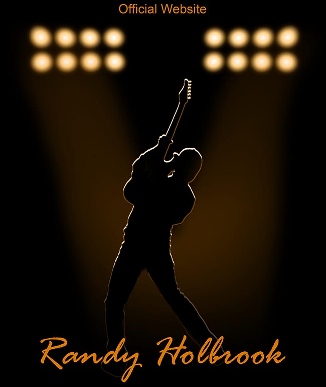 randy holbrook guitarist splash screen